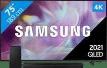 Samsung QLED 75Q64A (2021) + Soundbar
