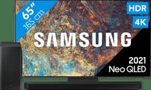 Samsung Neo QLED 65QN95A (2021) + Soundbar Samsung smart tv's