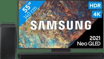 Samsung Neo QLED 55QN95A (2021) + Soundbar Samsung smart tv's