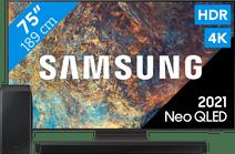 Samsung Neo QLED 75QN92A (2021) + Soundbar