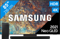 Samsung Neo QLED 85QN90A (2021) + Soundbar