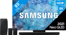 Samsung Neo QLED 8K 85QN900A (2021) + Soundbar