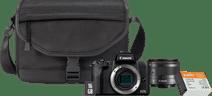 Canon EOS M50 Mark II Starterskit + Accu