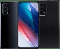OPPO Find X3 Lite 128GB Zwart 5G + OPPO Find X3 Lite Book Case Zwart