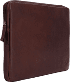 BlueBuilt 14-inch Laptop Cover Width 33 - 34cm Leather Brown