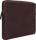 BlueBuilt 15-inch Laptop Cover Width 35 - 36cm Leather Brown