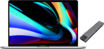 Apple MacBook Pro 16 inches Touch Bar (2019) MVVJ2N/A Space Gray + Bluebuilt Docking Stati