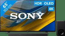 Sony Bravia OLED XR-65A80J (2021) + Soundbar