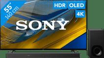 Sony Bravia OLED XR-55A80J (2021) + Soundbar Sony OLED tv's
