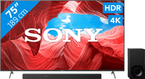 Sony KE-75XH9005P (2021) + Soundbar