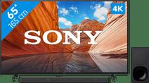 Sony KD-65X80J (2021) + Soundbar