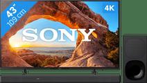 Sony KD-43X85J (2021) + Soundbar