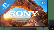 Sony KD-85X85J (2021) + Soundbar