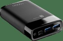 Cellularline Manta Powerbank 10.000 mah Power Delivery en Quick Charge Zwart Top 10 best verkochte powerbanks