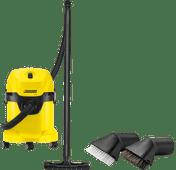 Karcher WD 3 + Karcher Car Suction Brush Set