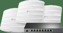 TP-Link Omada EAP245 3-Pack + TP-Link Omada TL-SG2008P
