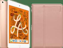 Apple iPad Mini 5 256 GB Wifi Goud + Targus Click-in Book Case Rosé Goud
