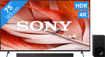 Sony Bravia XR-75X90J (2021) + Soundbar