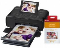 CANON Selphy CP1300 Print Kit (Zwart) met inkt en papierset
