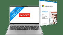 Lenovo IdeaPad 5 15ALC05 82LN008QMH + Microsoft 365 Personal NL Abonnement 1 jaar Laptop inclusief accessoires