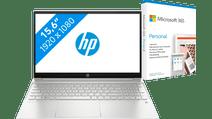 HP Pavilion 15-eh0947nd + Microsoft 365 Personal NL Abonnement 1 jaar Laptop inclusief accessoires