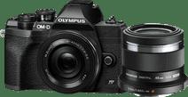 Olympus OM-D E-M10 Mark IV Zwart + EZ 14-42mm f/3.5-5.6 + M.Zuiko Digital 45mm f/1.8