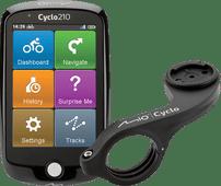 Mio Cyclo 210 Europa + Mio Cyclo Bike Mount Plus Stuurhouder