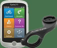 Mio Cyclo 215HC + Mio Cyclo Bike Mount Plus Stuurhouder