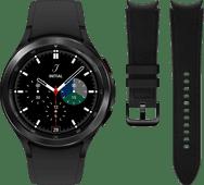 Samsung Galaxy Watch4 Classic 46mm Black + Samsung Leather Strap Black M/L 20mm