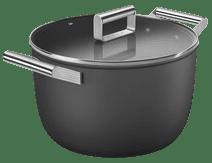 SMEG Kookpan 26 cm Zwart