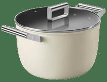 SMEG Kookpan 26 cm Crème