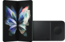 Samsung Galaxy Z Fold 3 512GB Groen 5G + Samsung Draadloze Oplader DUO Pad 9W Zwart