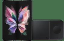 Samsung Galaxy Z Fold 3 512GB Zwart 5G + Samsung Draadloze Oplader DUO Pad 9W Zwart