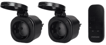 Smartwares SH4-99653 buitenstekker met afstandsbediening Duo-Pack