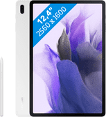 Samsung Galaxy Tab S7 FE 128GB Wifi Zilver Samsung Galaxy Tab S7 FE