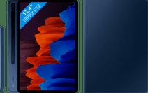 Samsung Galaxy Tab S7 Plus 256GB Wifi Blauw + Samsung Book Case Blauw