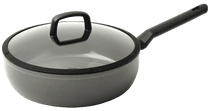 BK Balas High-sided Skillet with Lid 28cm Gray High-sided skillet