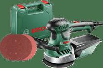 Bosch PEX 400 AE + schuurpapier 125 mm (25x) Bosch excentrische schuurmachine