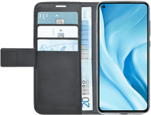 Azuri Wallet Xiaomi Mi 11 Lite Book Case Zwart Azuri hoesjes