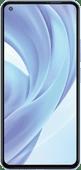 Azuri Tempered Glass Xiaomi Mi 11 Lite Screenprotector Zwart