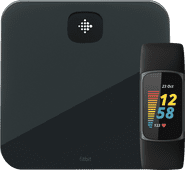 Fitbit Charge 5 Zwart + Fitbit Aria Air Zwart Fitbit Charge 5