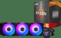AMD Ryzen 5 5600X + MSI Coreliquid 360R processorkoeler