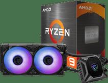 AMD Ryzen 9 5900X + MSI Coreliquid K240 processorkoeler