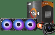 AMD Ryzen 9 5900X + MSI Coreliquid K360 processorkoeler
