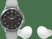 Samsung Galaxy Watch4 Classic 42mm Silver + Samsung Galaxy Buds 2 Silver