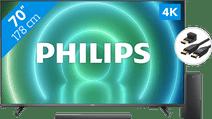 Philips 70PUS7906 - Ambilight (2021) + Soundbar + Hdmi kabel