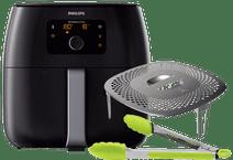 Philips Avance Airfryer XXL HD9650/90 Zwart + Snackkit