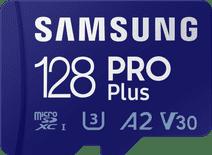 Samsung PRO Plus 128GB microSDXC UHS-I U3 160&120MB/s, FHD & 4K UHDMemoryCard with Adapter