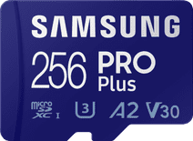 Samsung PRO Plus 256GB microSDXC UHS-I U3 160&120MB/s, FHD & 4K UHDMemoryCard with Adapter