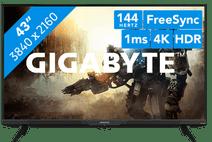 Gigabyte AORUS FV43U 144hz monitoren